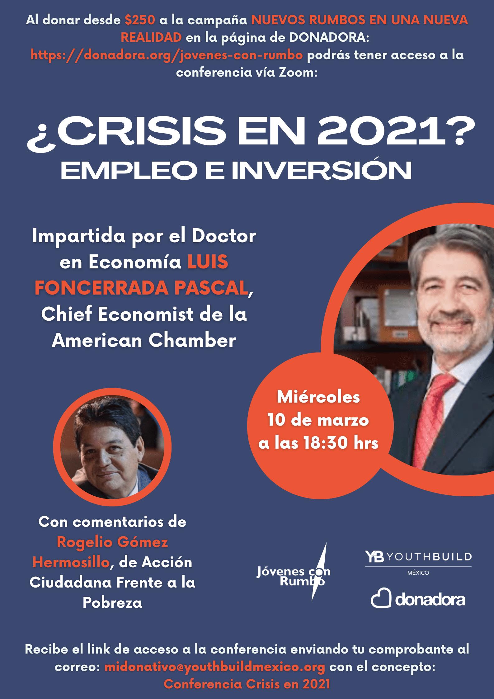 Conferencia: ¿Crisis en 2021?